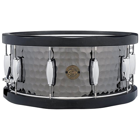 Gretsch Drums Full Range 14  x 6,5  Hammered Black Steel Snare