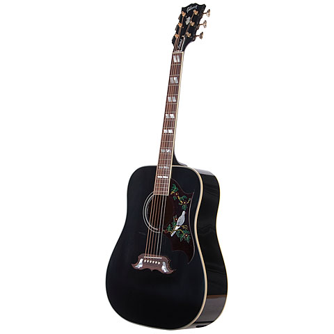 Gibson Limited Dove Trans Ebony