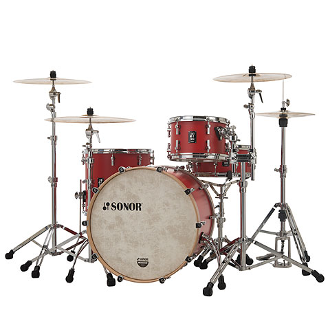 "Sonor SQ1 20""/12""/14"" Hot Rod Red"