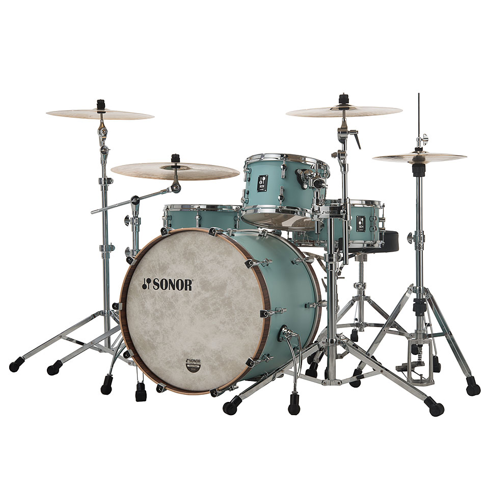 Sonor sq1 22 12 16 cruiser blue drum kit for 16 x 12 floor tom