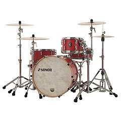 "Sonor SQ1 24""/13""/16"" Hot Rod Red « Drum Kit"