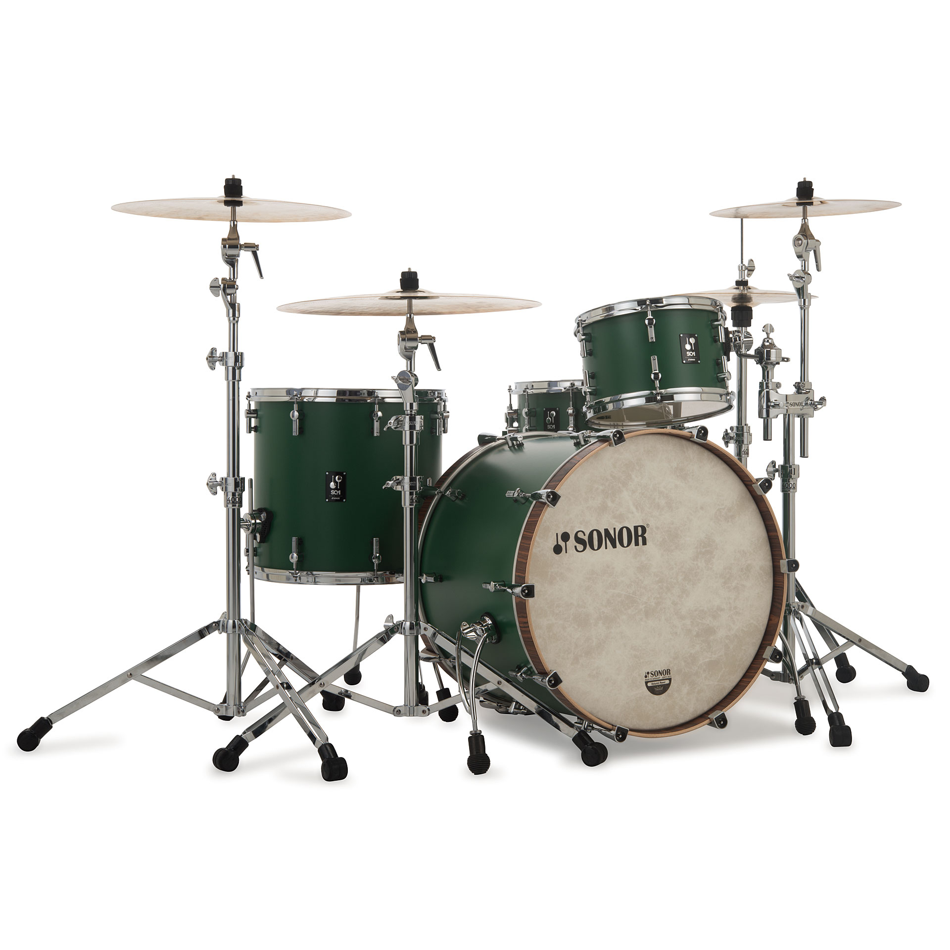 Sonor Sq1 24 Quot 13 Quot 16 Quot Roadster Green 171 Schlagzeug
