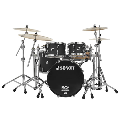 Sonor SQ2  20 /10 /12 /14  Dark Satin