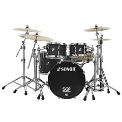 "Sonor SQ2  20""/10""/12""/14"" Dark Satin « Batterie acoustique"