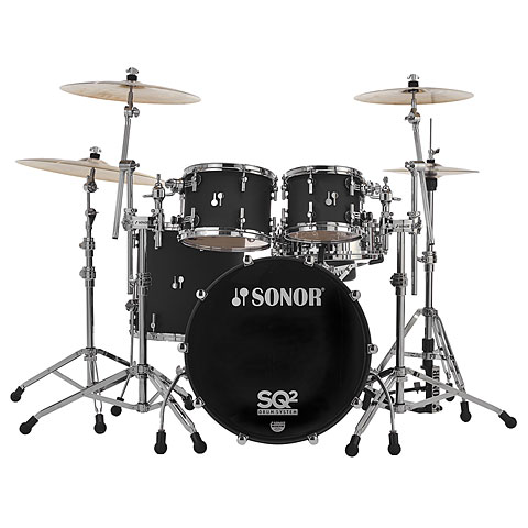 Sonor SQ2  22 /10 /12 /16  Dark Satin