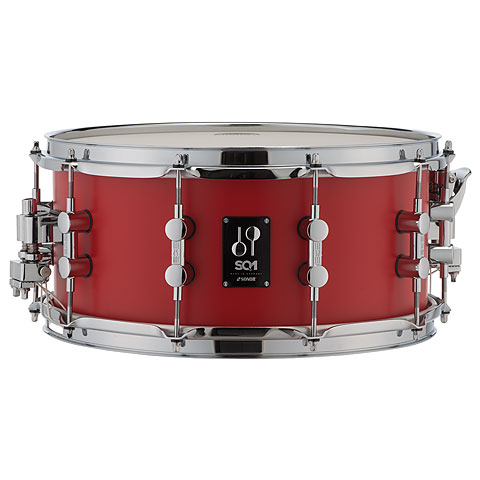 Sonor SQ1 14  x 6,5  Hot Rod Red Snare
