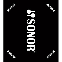 Sonor Black Carpet with Sonor Logo 160 x 180 cm « Trumtillbehör