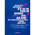 Lektionsböcker Editions Bim Teach your body to blow - Fundamentals for brass