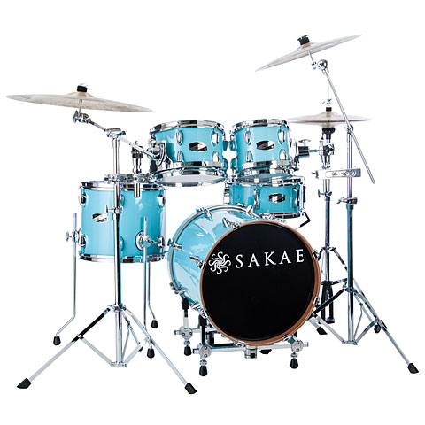 Sakae Pac-D Sonic Blue Compact Plus Drumset