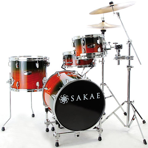 Sakae Pac-D Forest Fade Compact Drumset