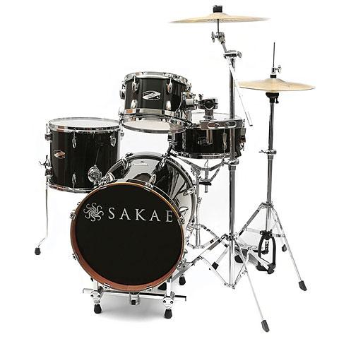 Sakae Pac-D Black Gloss Compact Drumset