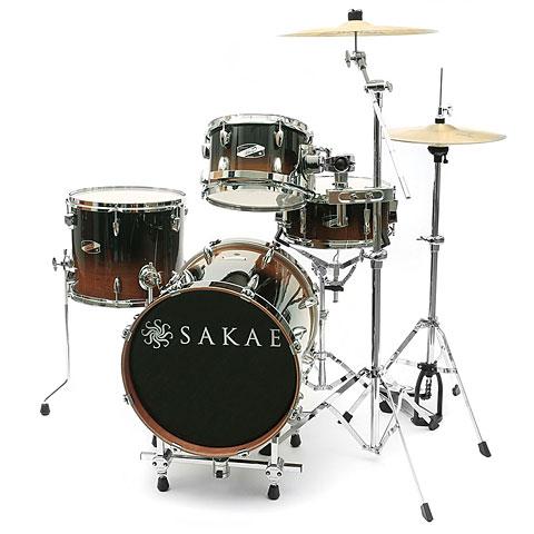 Sakae Pac-D Tobacco Fade Compact Drumset
