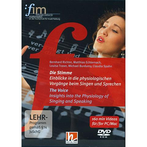 DVD Helbling Die Stimme; Einblicke in die physiologischen Vorgänge beim Singen und Sprechen