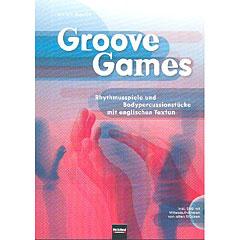 Helbling Groove Games; Rhythmusspiele und Bodypercussionstücke mit englischen Texten « Instructional Book