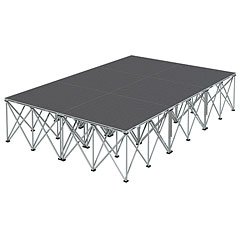 Intellistage Bühne 2 x 3 x 0,6 m Carpet « Stage Platform