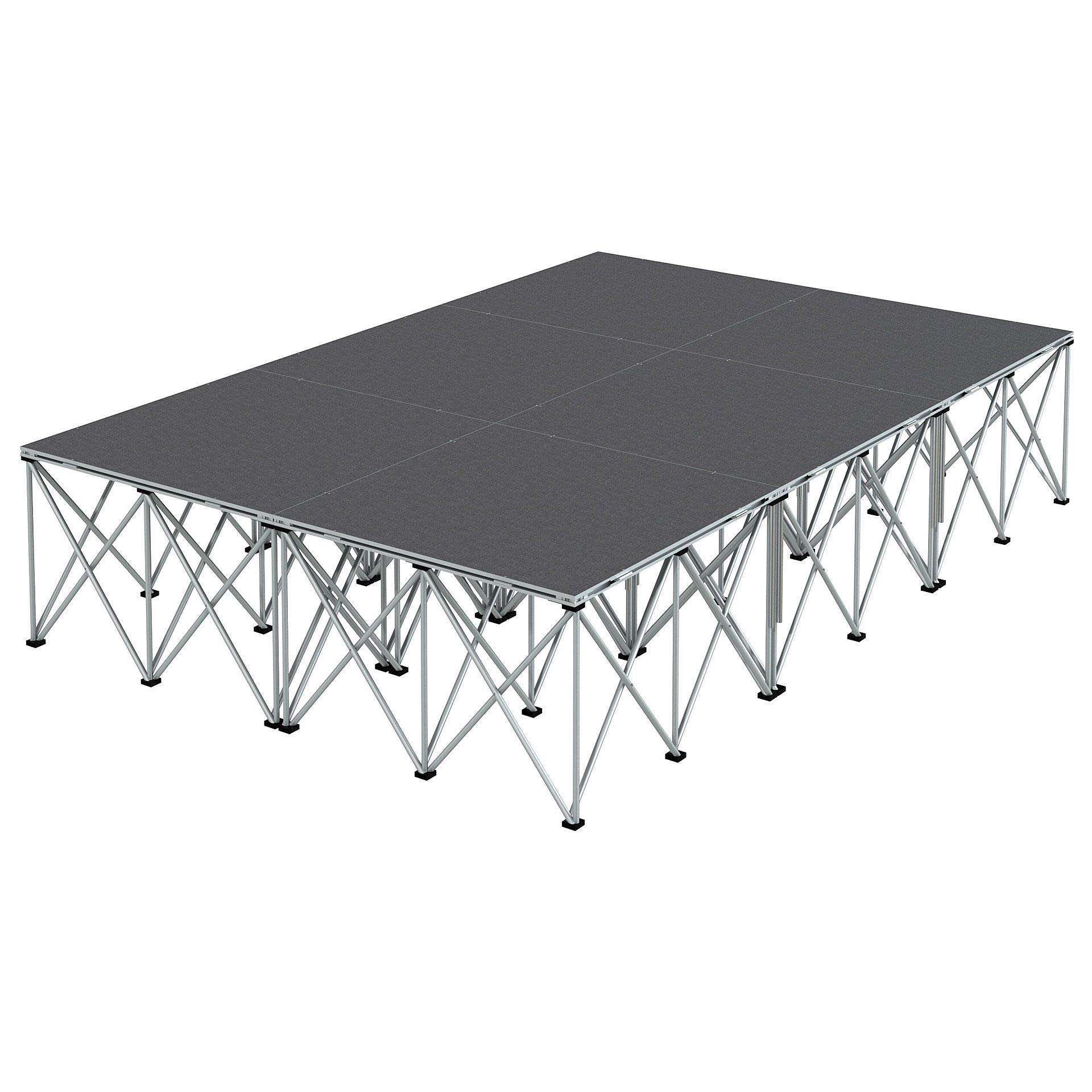 intellistage b hne 2 x 3 m teppich stage platform. Black Bedroom Furniture Sets. Home Design Ideas