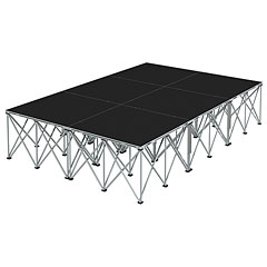 Intellistage Bühne 2 x 3 x 0,6 m Industrial Diamond « Stage Platform