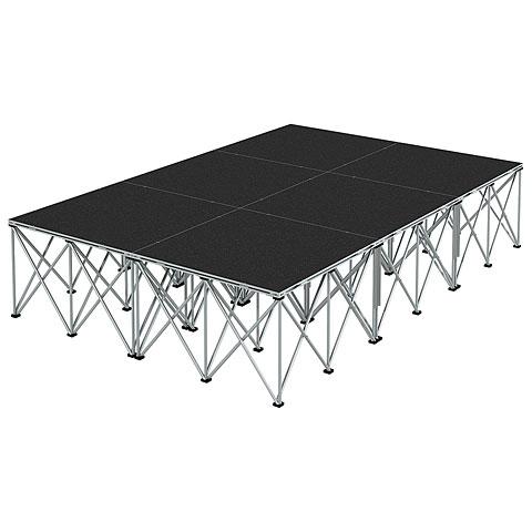 Plataforma de escenario Intellistage Bühne 2 x 3 x 0,6m Tuffcoat