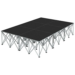 Intellistage Bühne 2 x 3 x 0,6m Tuffcoat « Stage Platform