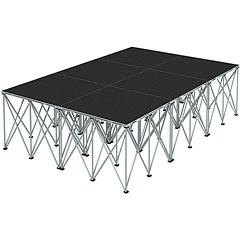 Intellistage Bühne 2 x 3 x 0,8 m Carpet « Stage Platform