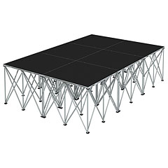 Intellistage Bühne 2 x 3 x 0,8 m Industrial Diamond « Stage Platform