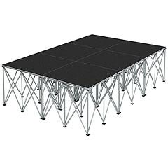 Intellistage Bühne 2 x 3 x 0,8 m Tuffcoat « Plataforma de escenario