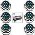 Комплект светового оборудования  Collins Compact Slim Par 10 RGBW Set 3
