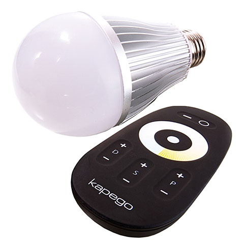 Kapego LED E27 RF White