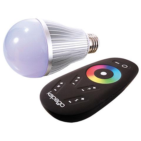 Kapego LED E27 RF Color / White