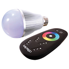 Kapego LED E27 RF Color / White « Lamp (Lightbulbs)