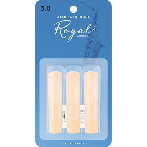 Rico Royal Altsax 3,0 3er Pack