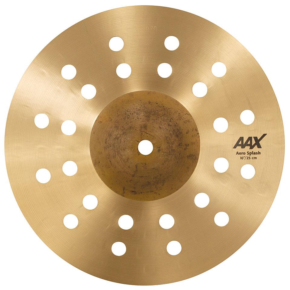 """SABIAN 10"""" AAX Aero Splash Cymbal 210XAC"""
