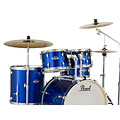 Batterie acoustique Pearl Export 20'' High Voltage Blue Complete Drumset