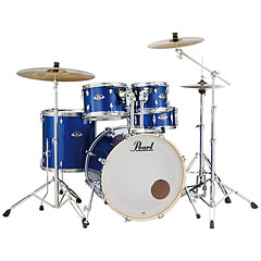 "Pearl Export 20"" High Voltage Blue Complete Drumset « Batterie acoustique"