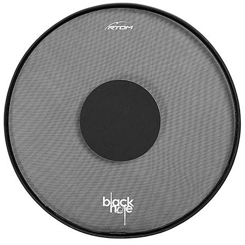 "Pad de práctica RTOM Black Hole 12"" Practice Pad"