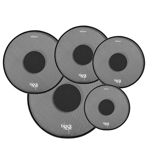 RTOM Black Hole 22/10/12/16/14 Practice Pad Set
