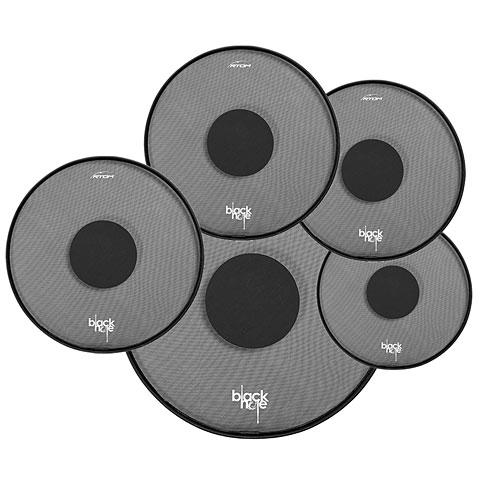 RTOM Black Hole 22/10/12/14/14 Practice Pad Set