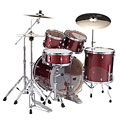"""Batería Pearl Export 20"""" Black Cherry Glitter Complete Drumset"""