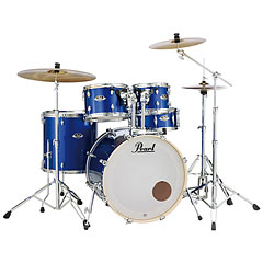 "Pearl Export 22"" High Voltage Blue Complete Drumset « Batería"
