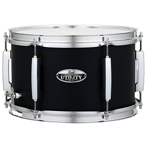 "Caisse claire Pearl Modern Utility 12"" x 7"" Black Ice Snare"