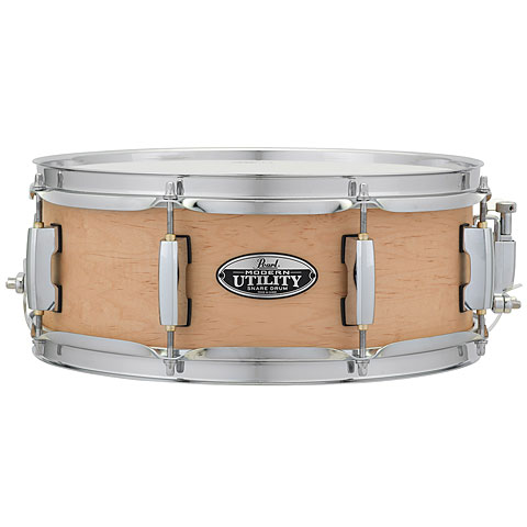 "Pearl Modern Utility 13"" x 5"" Matte Natural Snare"