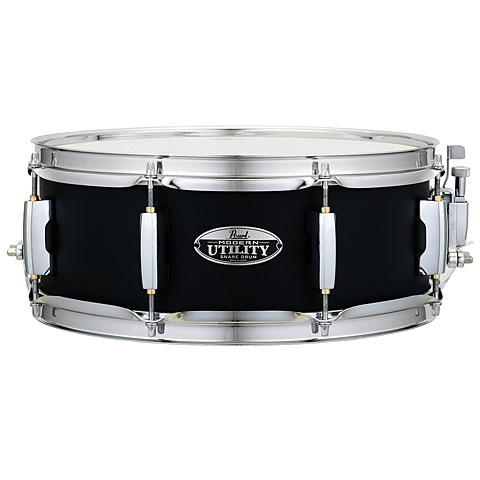"Snare Drum Pearl Modern Utility 13"" x 5"" Black Ice Snare"