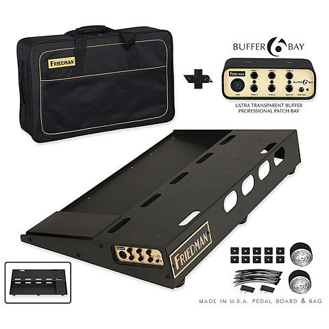 Estuches para efectos Friedman Tour Pro 1525 - Gold Pack