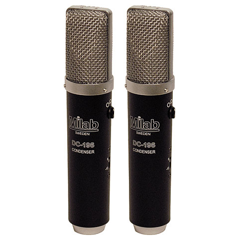 Microphone Milab DC-196 Matched Pair