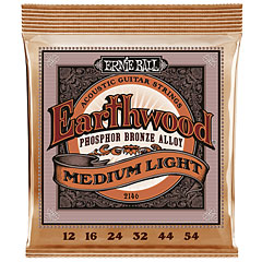 Ernie Ball Earthwood Medium Light Phosphor Bronze 2146 .012-054 « Corde guitare folk