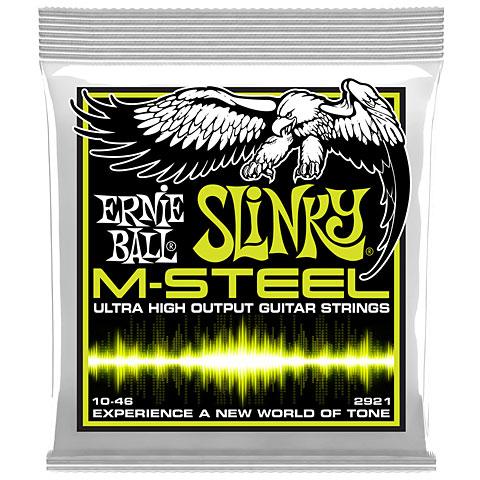 Saiten E-Gitarre Ernie Ball Regular Slinky M-Steel 2921 .010-046