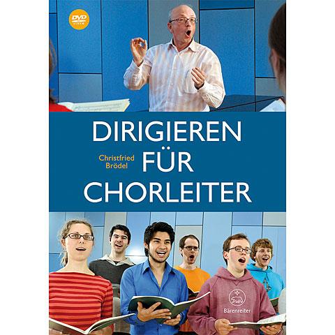 Partitions choeur Bärenreiter Dirigieren für Chorleiter + DVD