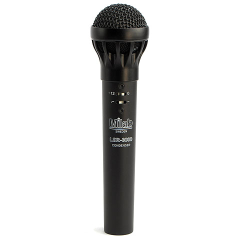 Milab LSR-3000 Condenser Mic Black