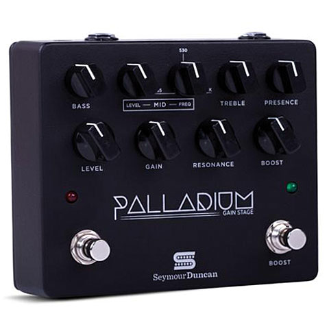 Pedal guitarra eléctrica Seymour Duncan Palladium Gain Stage BLK