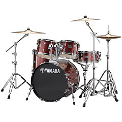 "Yamaha Rydeen 20"" Burgundy Glitter Bundle « Drum Kit"